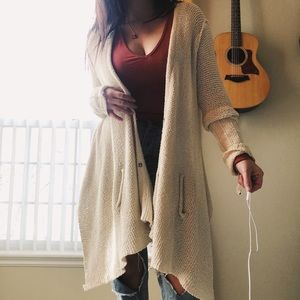Free people knitted cardigan
